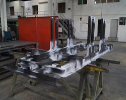 Châssis spécifique - Contrôle magnétoscopie - RHÔNE-ALPES - Métal Partner
